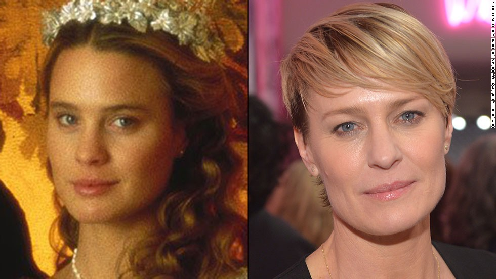 "To play Princess Buttercup in 1987's ""The Princess Bride,"" Robin Wright's acting process ""was mostly telling myself, 'Don't be an idiot,' "" she jokes to <a href=""http://www.townandcountrymag.com/leisure/arts-and-culture/robin-wright-2014#slide-1"" target=""_blank"">Town and Country magazine</a>. Since then, she's built an award-winning career that includes her current turn in Netflix's ""House of Cards."""