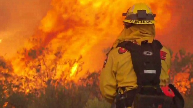 Wildfires spawn 'firenadoes' in CA