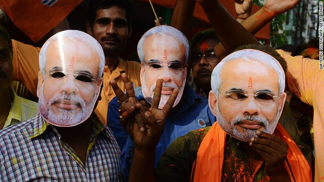 BJP party claims India election victory