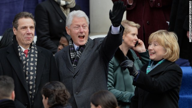 Bill Clinton: Running is Hillary's choice