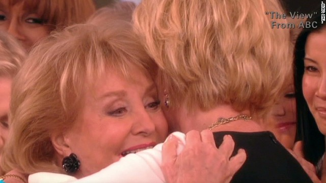 Surprises for Barbara Walters