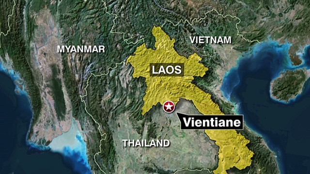 Plane carrying Laotian officials crashes