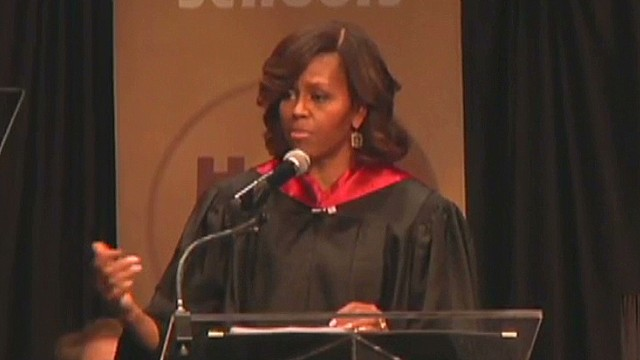 First lady: Some schools 'aren't equal' (2014)