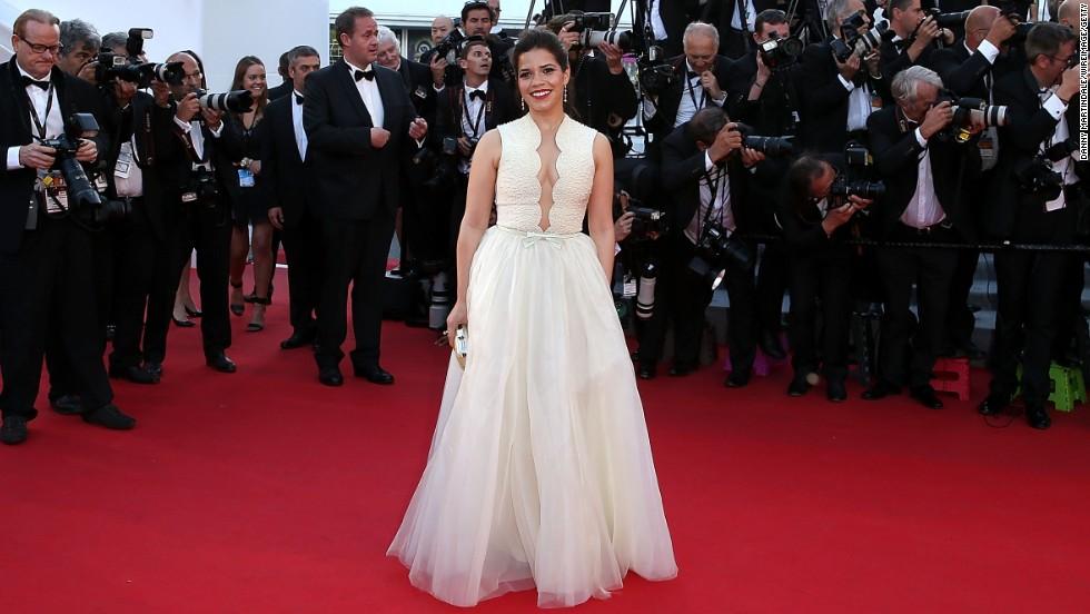 Actress America Ferrera on May 16