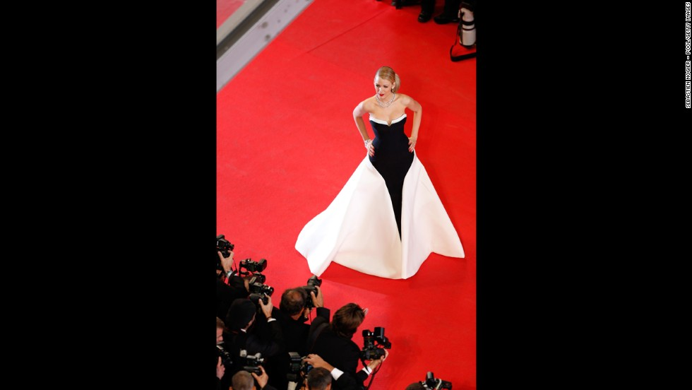 Actress Blake Lively on May 16.
