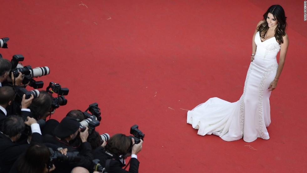 Actress Eva Longoria on May 17