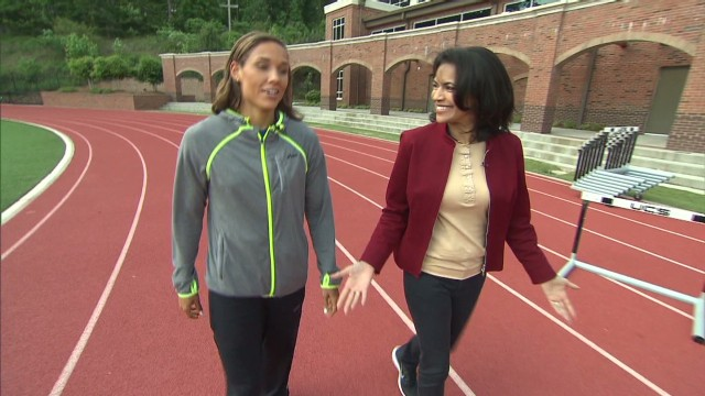 Face to face with Lolo Jones