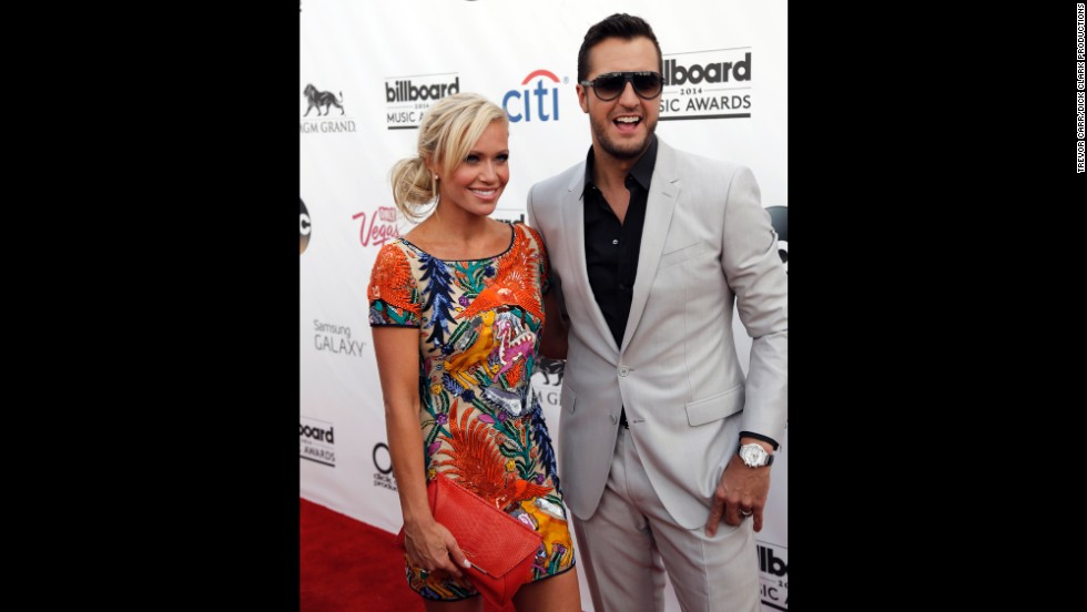 Caroline Boyer and Luke Bryan