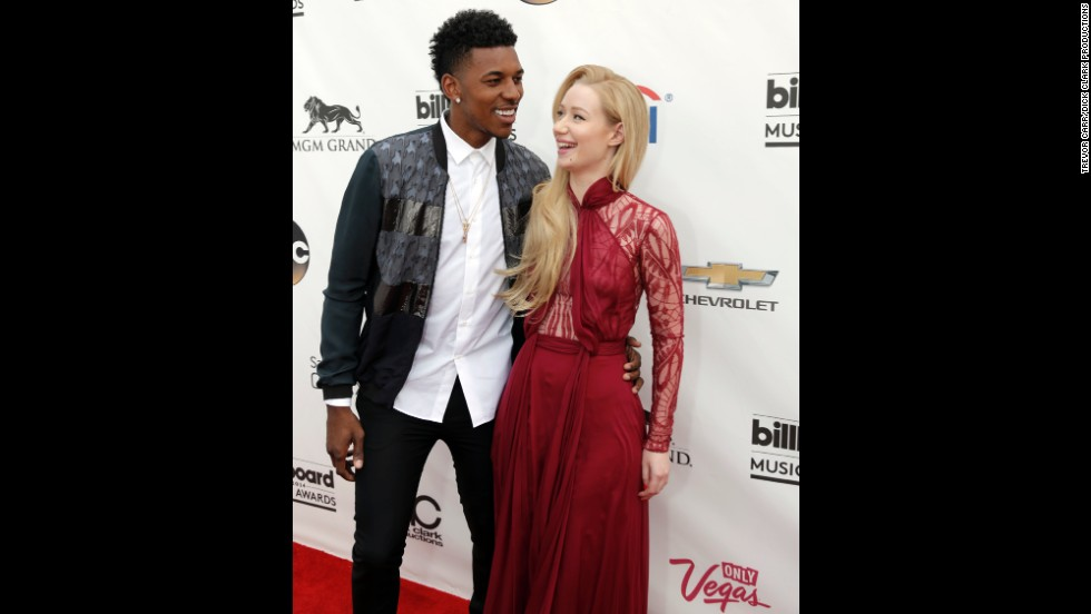Nick Young and Iggy Azalea