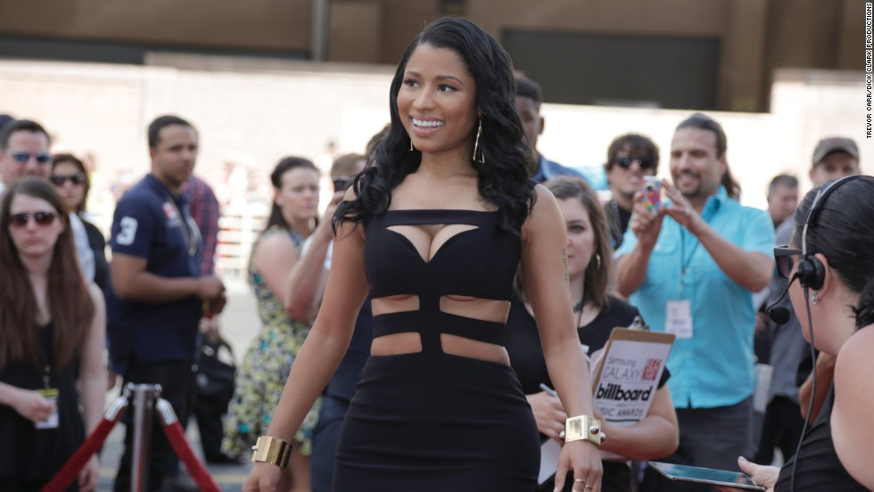 Nicki Minaj arrives for the 2014 Billboard Music Awards at the MGM Grand Garden Arena on May 18, 2014, in Las Vegas, Nevada. Click through to see some of the other celebrities who made an appearance.