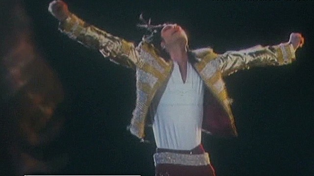 Michael Jackson hologram hits the stage