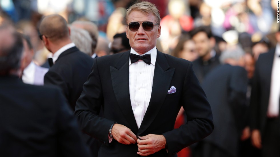 Actor Dolph Lundgren on May 18