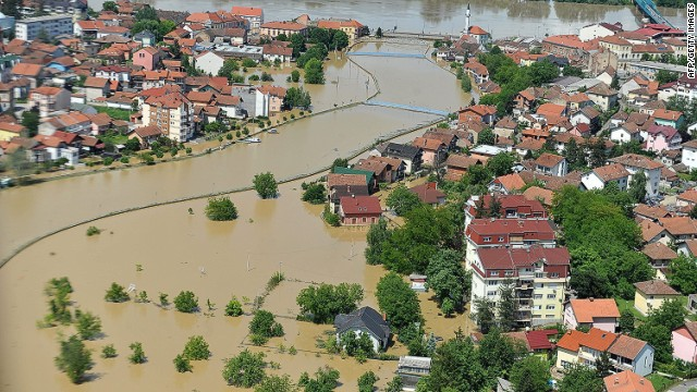 Bosnia floods dislodge landmines