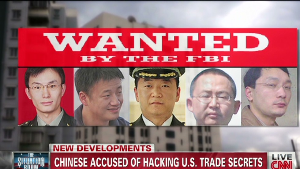 Chinese Hackers Infiltrated US Companies Attorney General Says - Map of us chinese hacking victims
