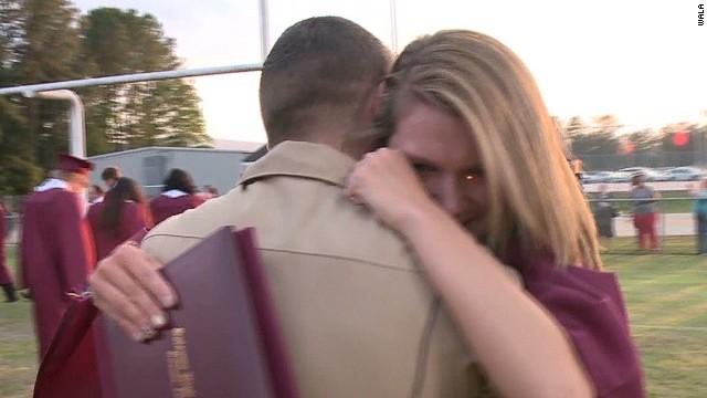 dnt soldier surprises sister at graduation_00011218.jpg