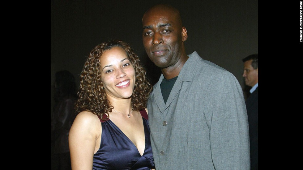 "Actor Michael Jace, right, was convicted Tuesday of second-degree murder in the 2014 fatal shooting of his wife, April. Jace appeared in several movies and was a regular on the hit FX show ""The Shield."""