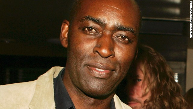 Actor Michael Jace at the afterparty for the 4th season screening premiere of FX's 'The Shield' at Meson G Resturaunt on March 12, 2005 in Los Angeles, California.