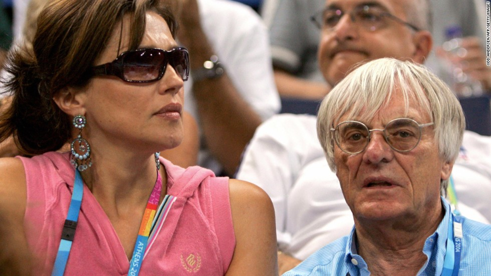 Formula One President Bernie Ecclestone paid $1.5 billion to former wife Slavica.