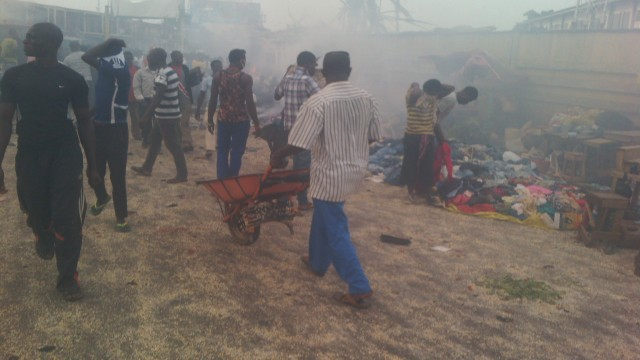 Massive explosion rocks Nigeria