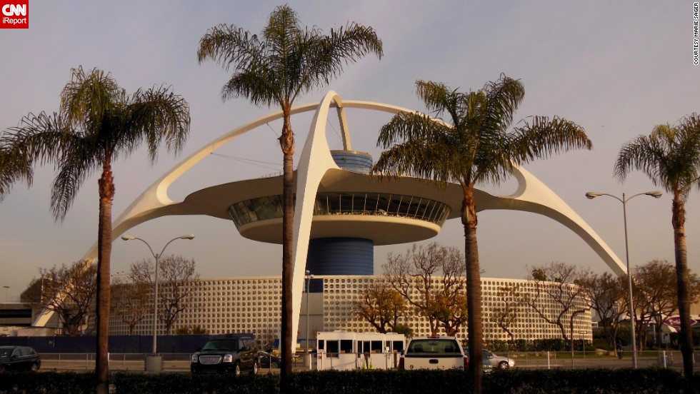 "The ""Theme Building"" at Los Angeles International Airport was meant to look like a spaceship, according to the<a href=""http://cwis.usc.edu/dept/LAS/history/historylab/LAPUHK/Text/Concepts/Icons/Icons_LAX.htm"" target=""_blank""> University of Southern California</a>. Designed by William Pereira, it was built in 1961 and served as a restaurant for years. iReporter <a href=""http://ireport.cnn.com/docs/DOC-1124494"">Marie Sager</a> remembers dining there 30 years ago."