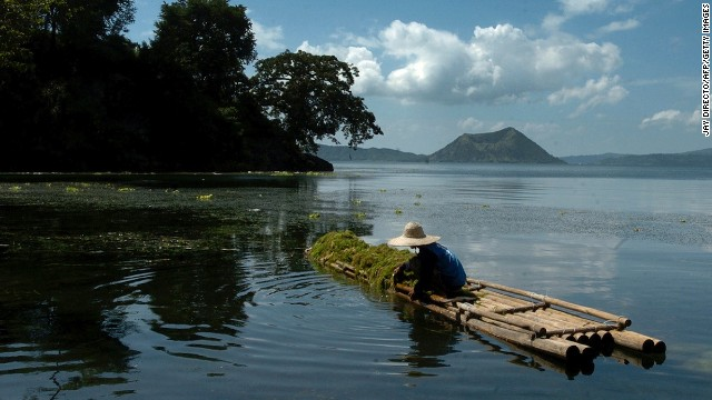 Tagaytay: Like the Hamptons, only with fishermen on bamboo rafts.