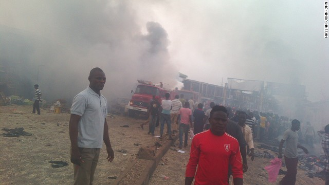 Police: Dozens dead in Nigeria blasts