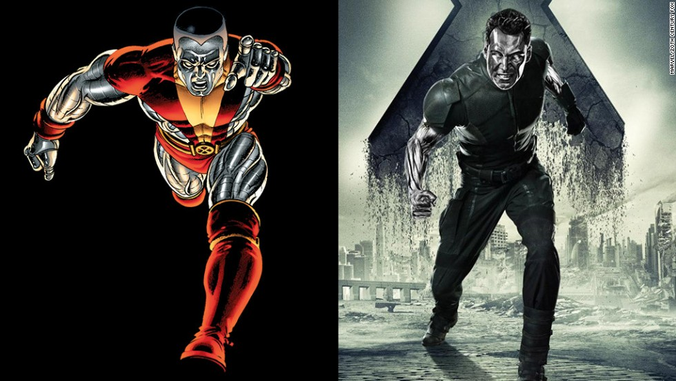 Daniel Cudmore returns as the super-strong Colossus, who can turn his body into metal.