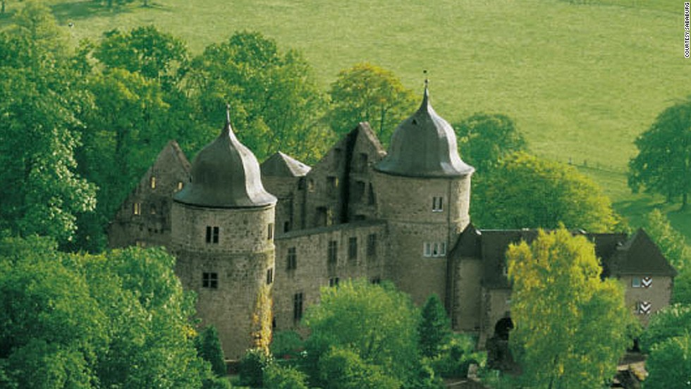 Germany's Dornröschenschloss Sababurg was supposedly the inspiration of the Brothers Grimm's Legend of Sleeping Beauty, who some claim slept here for a century before being saved by a kiss.