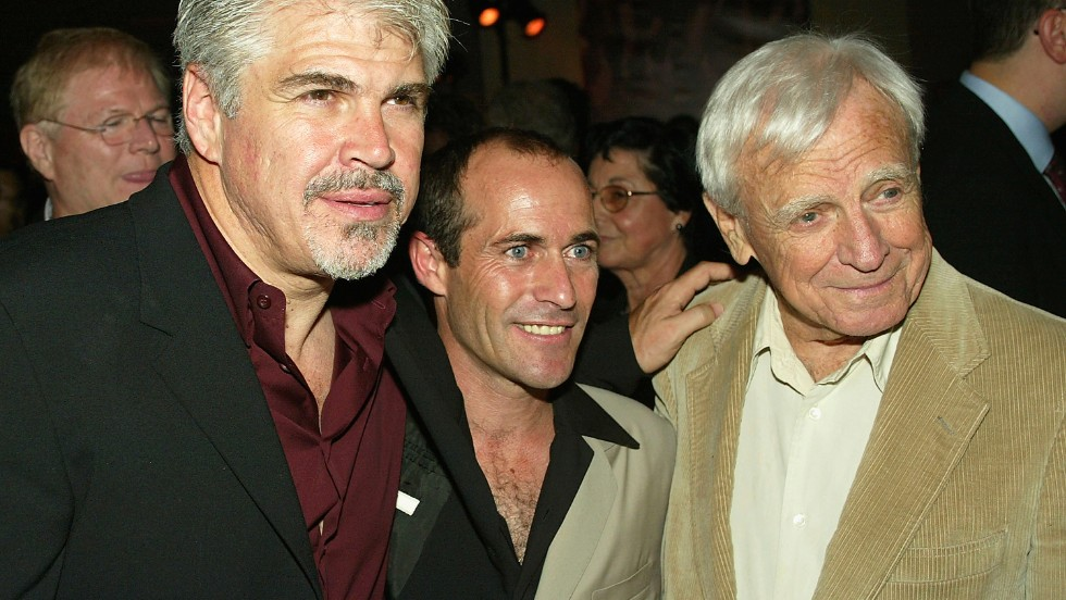 "While still riding, Stevens went into acting, teaming up with Gary Ross (left), director of the 2003 film ""Seabiscuit,"" and son of acclaimed screenwriter Arthur Ross (right)."