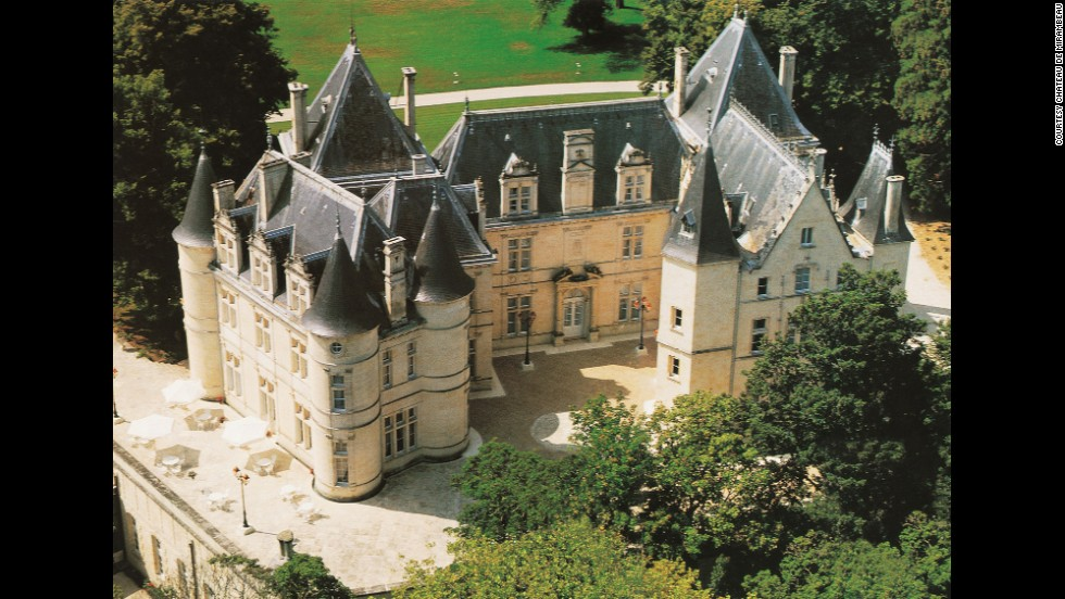 The 19th-century Renaissance-style Château de Mirambeau is the perfect spot between Bordeaux and Cognac from which to explore French vineyards.