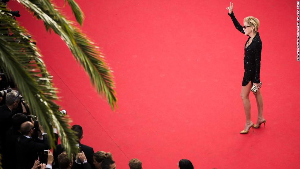 Actress Sharon Stone on May 21.