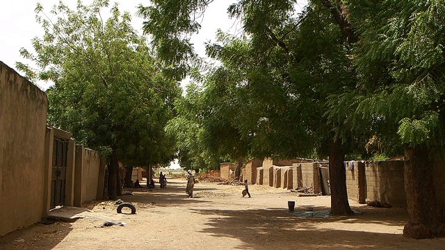 Poblaciones casi vacías en Nigeria