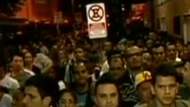 Chaos during Brazil transit strike