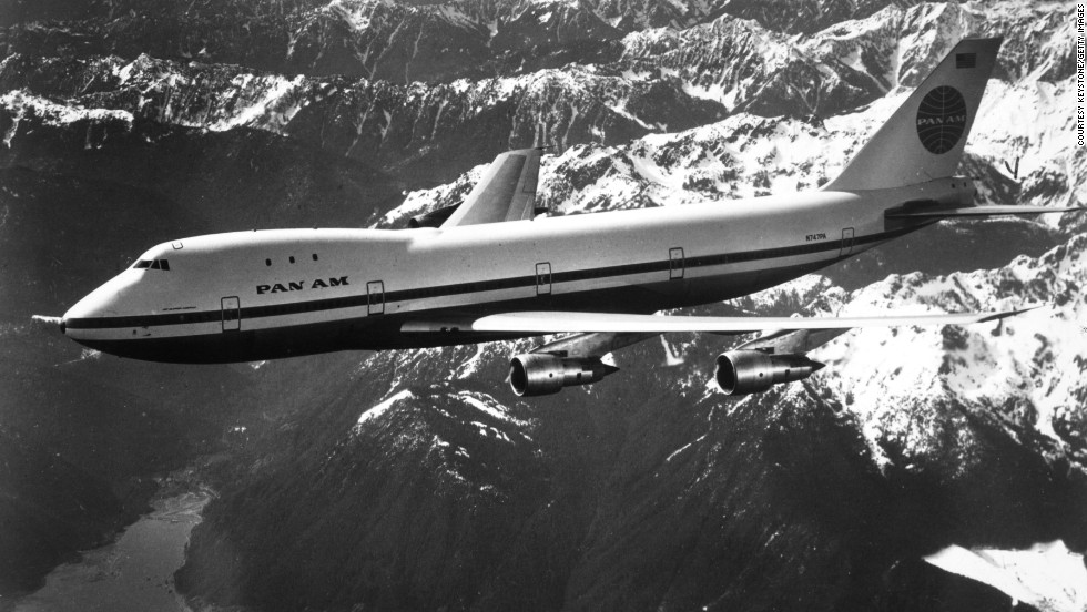 1970: The world's first wide-body aircraft, the Boeing 747, entered service with Pan Am on its New York to London route.