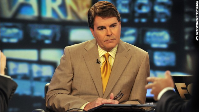 Gregg Jarrett on set at FOX Studios in New York in 2011.