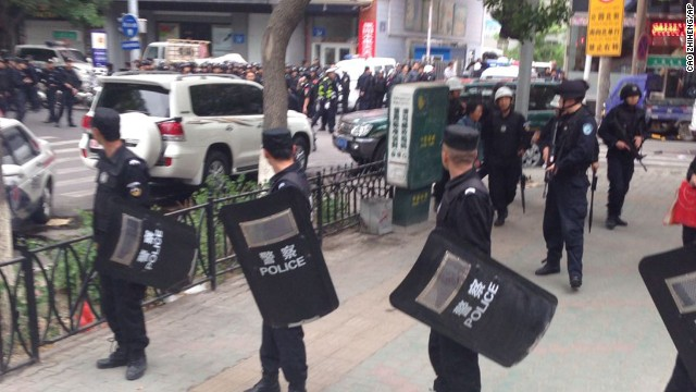 Reports: 31 dead in western China attacks