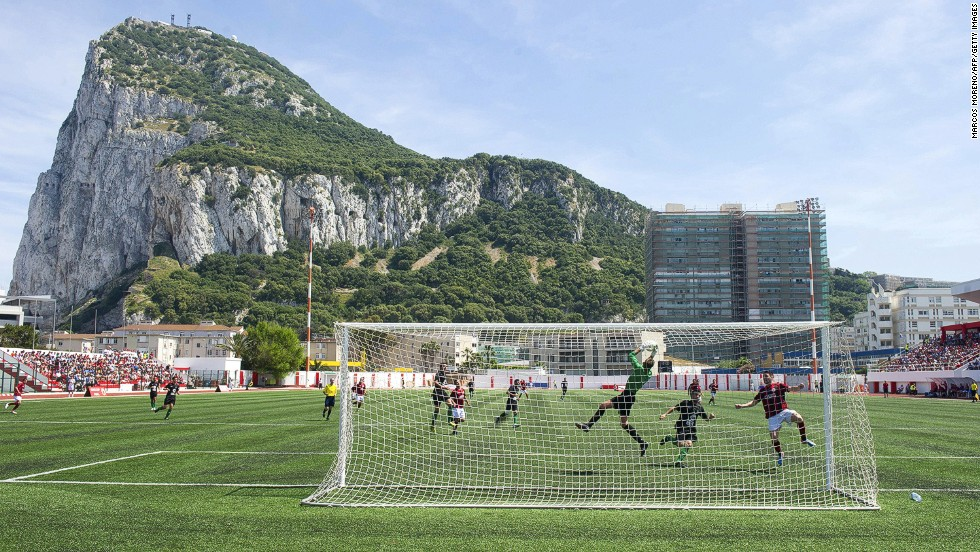 Gibraltar got a huge boost in 2013 when its team was admitted to Europe's governing football body UEFA. The British territory will be in the hunt to qualify for the 2016 European Championships.