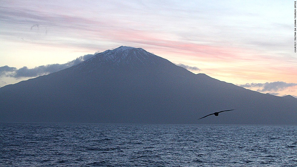 The British Territory of Tristan da Cunha is the most remote inhabited place on the planet. A volcanic island in the South Atlantic, it's 1,750 miles from the nearest populated place -- Cape Town, South Africa.