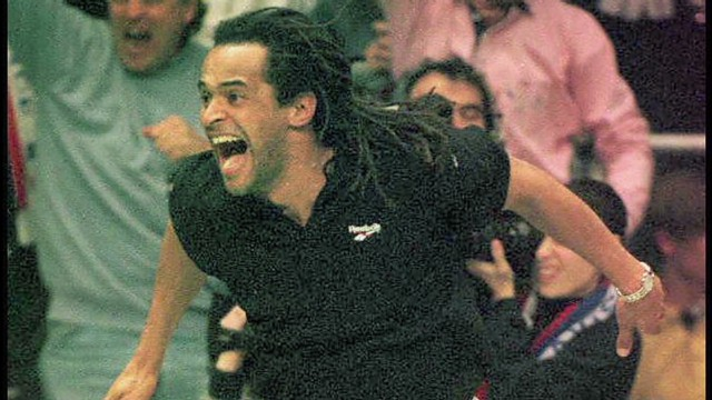 Yannick Noah's unforgettable moment