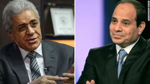 An underdog in Egypt's presidential race