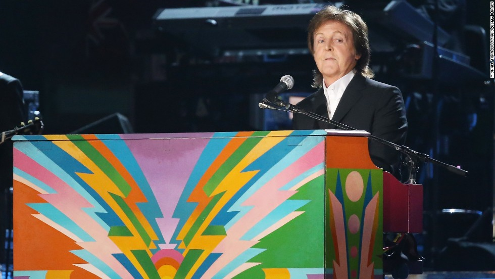 Paul McCartney, one of the last surviving members of The Beatles, turned 72 on June 18, 2014.