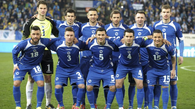 Bosnia's long journey to the World Cup