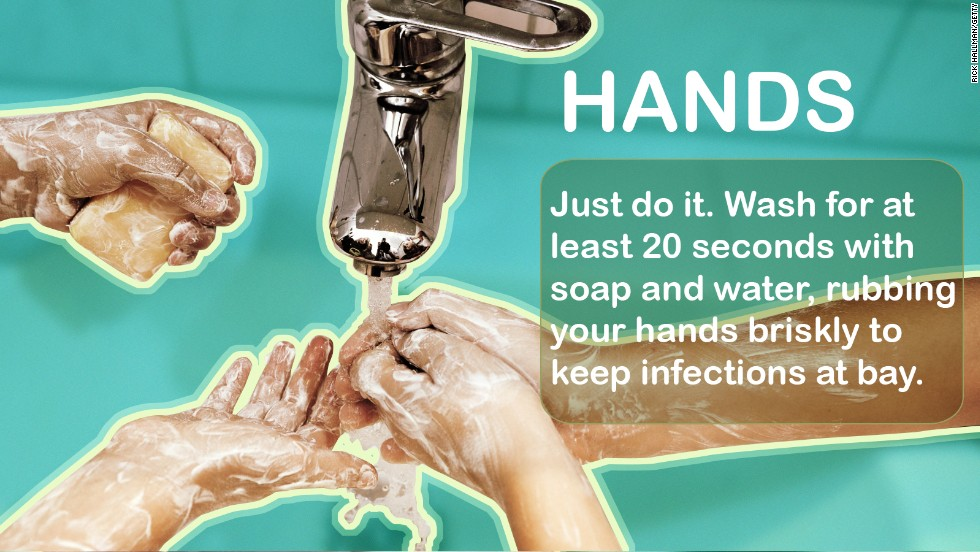 "The single easiest way to stay healthy is to wash your hands. It's that simple. Anti-bacterial products work in a pinch, but the good old-fashioned stuff works best. <br />Source: <a href=""http://www.cdc.gov/handwashing/ "" target=""_blank"">CDC</a>"
