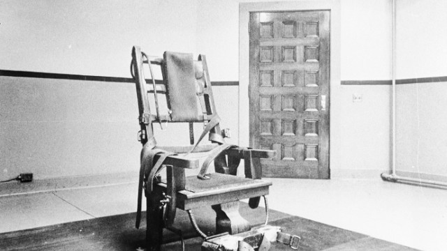 Tennessee to use the electric chair