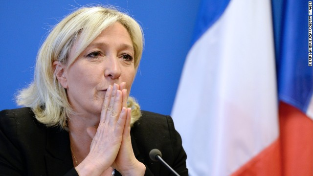 "The leader of France's ""National Front"""