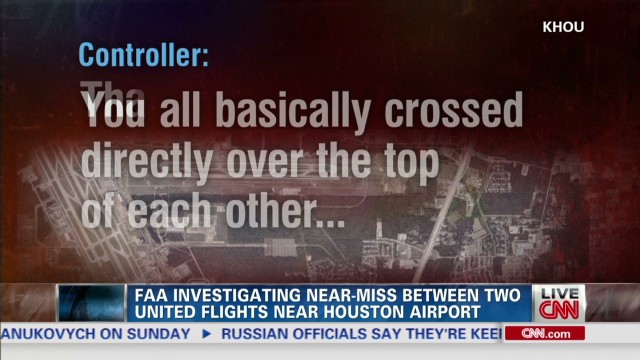 FAA investigating a string of near misses