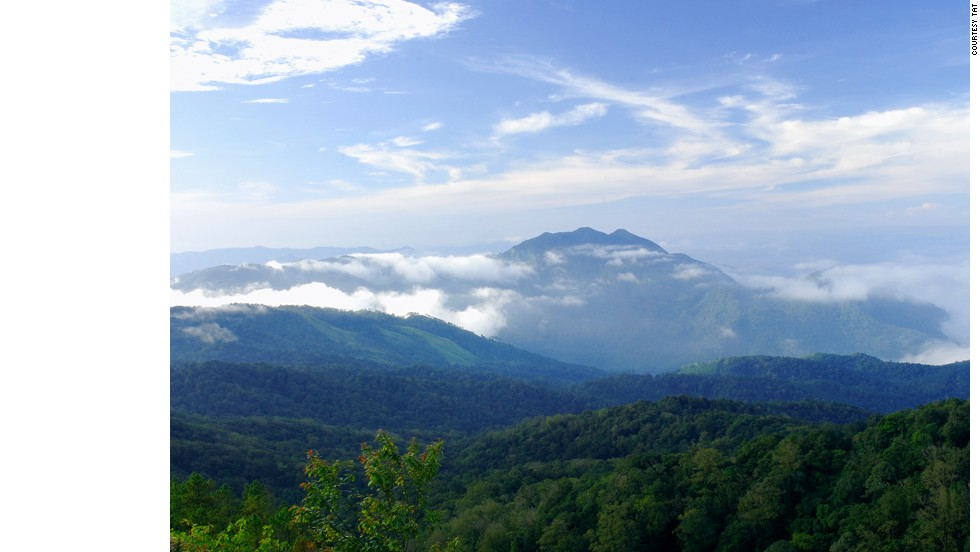 Named after its centerpiece and the highest peak in the country, Doi Inthanon National Park offers waterfall and cave attractions by day and stargazing by night.