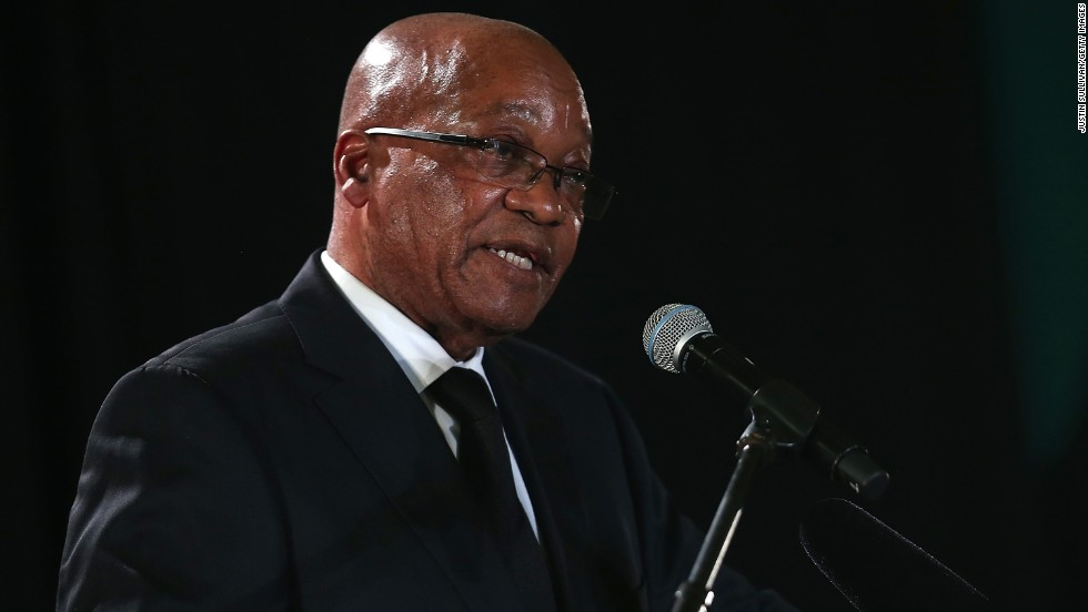 Jacob Zuma,73, became President of South Africa in 2009 and was re-elected in 2014. He was involved with the African National Congress party from a young age, joining in 1959.