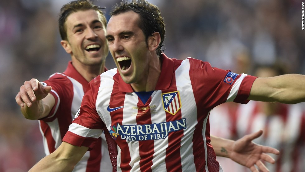 In the 2014 final, Diego Godin's 36th minute goal had Atletico in front for nearly an hour until Sergio Ramos equalized in the third minute of stoppage time to force the match into extra time.