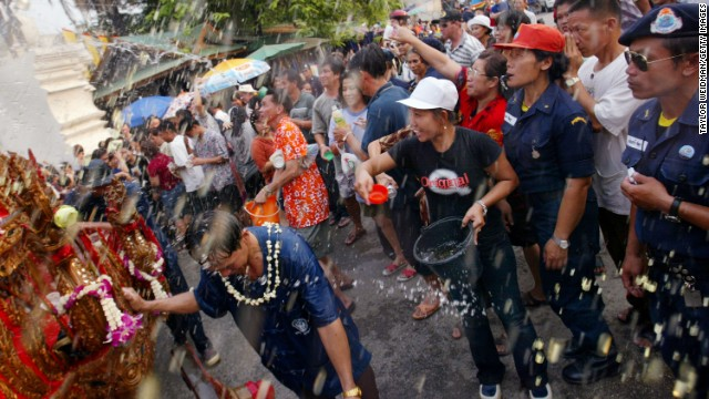 Chiang Mai hosts the wildest Songkran festival celebrations in the country.